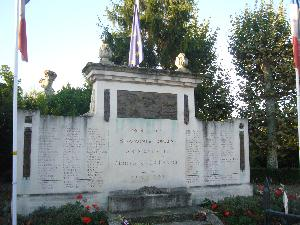 Monument aux morts André Abbal